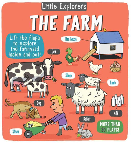Little Explorers: The Farm book