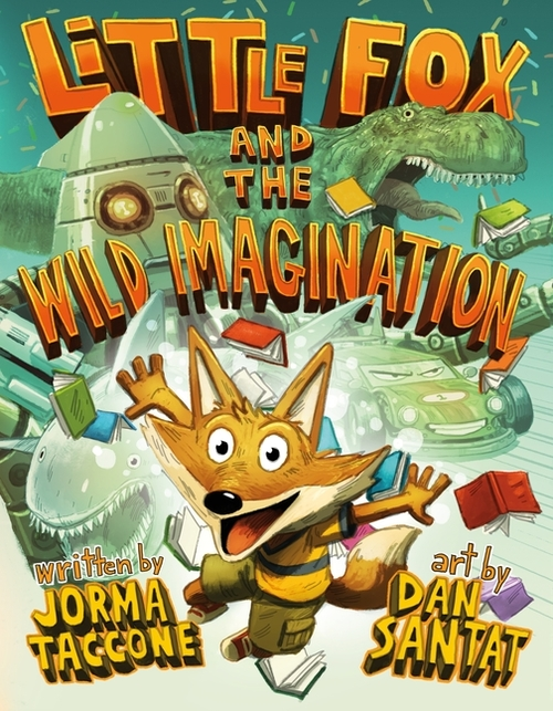 Little Fox and the Wild Imagination book