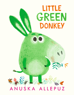 Little Green Donkey book