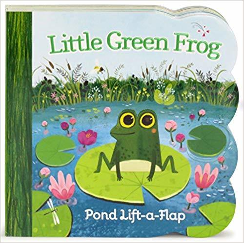Little Green Frog Chunky Lift-a-Flap Board Book (Babies Love) book