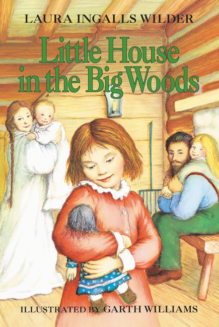 Little House in the Big Woods book