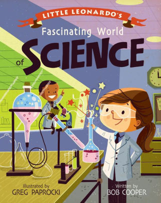 Little Leonardo's Fascinating World of Science book