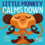 Little Monkey Calms Down book