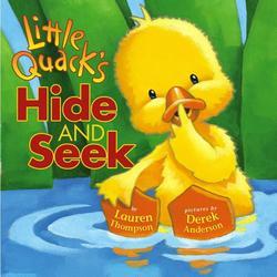 Little Quack's Hide and Seek book