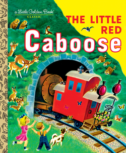 Little Red Caboose book