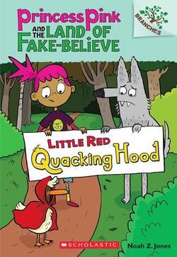 Little Red Quacking Hood book