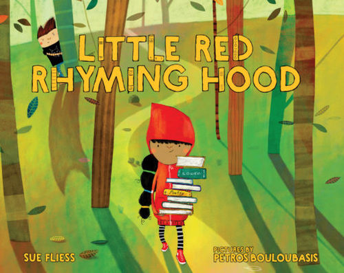 Little Red Rhyming Hood book