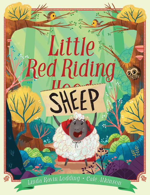 Little Red Riding Sheep book