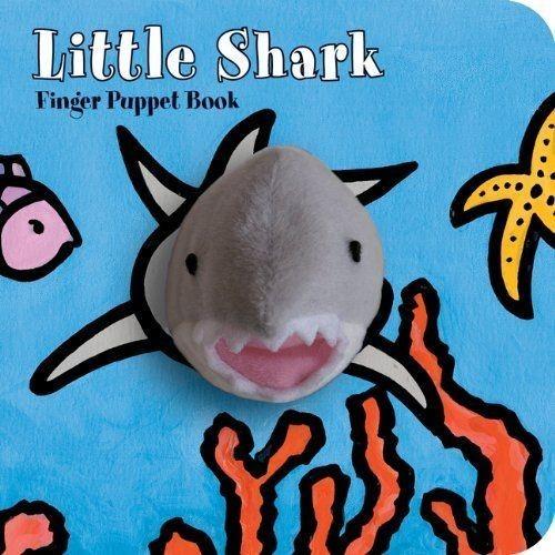 Little Shark: Finger Puppet Book book