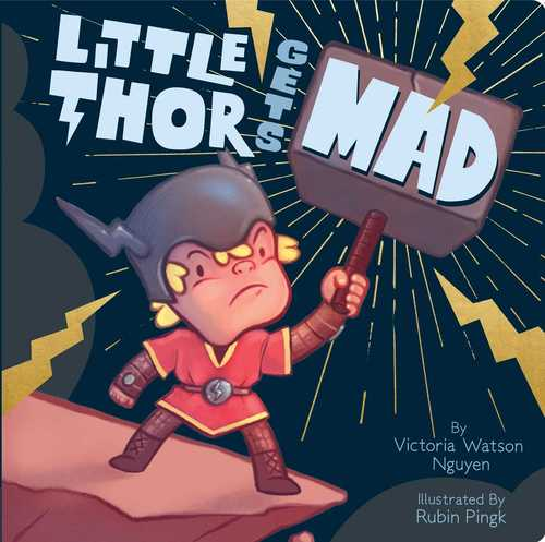Little Thor Gets Mad book