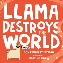 Llama Destroys the World book