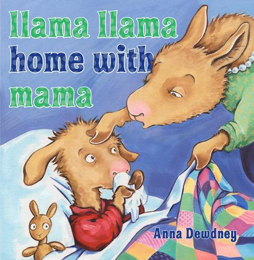 Llama Llama Home with Mama book
