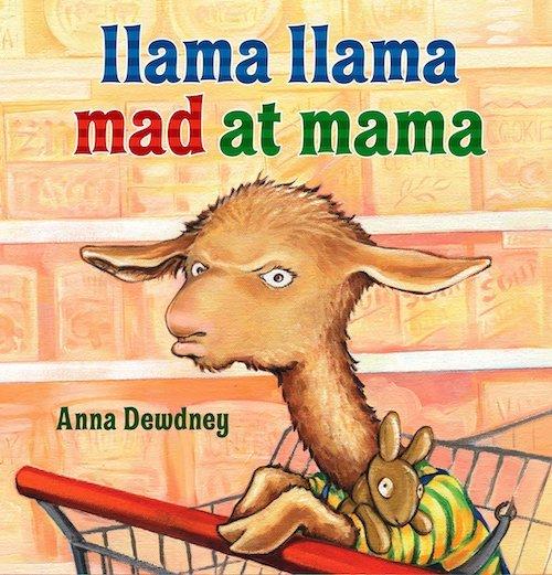Llama Llama Mad at Mama book