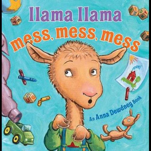 Llama Llama Mess Mess Mess book