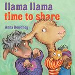 Llama Llama Time to Share book