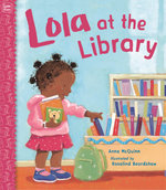 Lola at the Library book