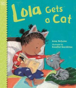 Lola Gets a Cat book