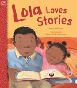 Lola Loves Stories book
