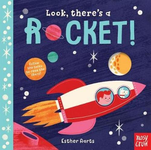 Look, There's a Rocket! book
