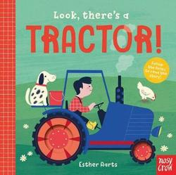 Look, There's a Tractor! book