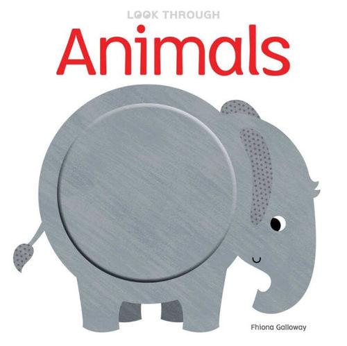 Look Through: Animals book