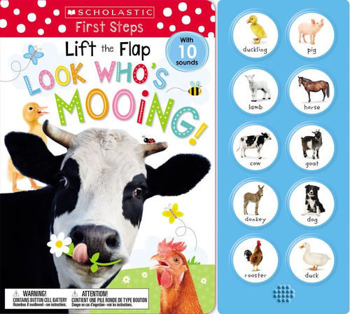 Look Who's Mooing! book