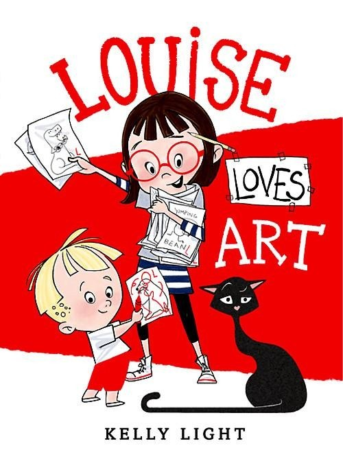 Louise Loves Art book