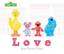 Love: From Sesame Street book