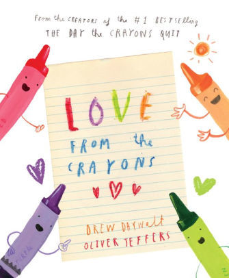 Love from the Crayons book