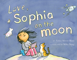 Love, Sophia on the Moon book