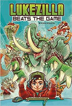 Lukezilla Beats the Game book