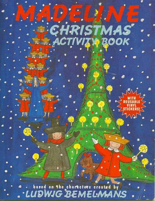 Madeline Christmas Activity Book book