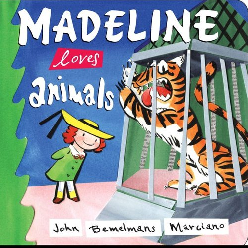Madeline Loves Animals book
