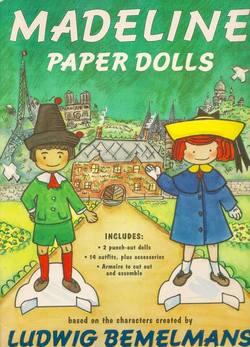 Madeline Paper Dolls book