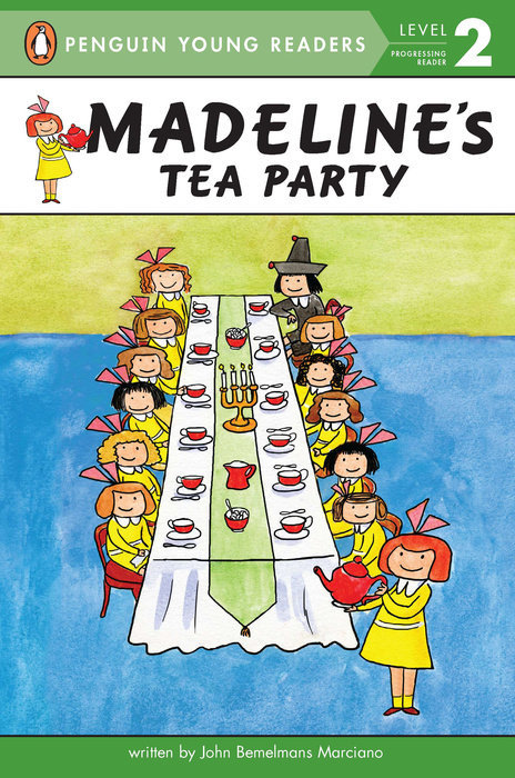 Madeline's Tea Party Book