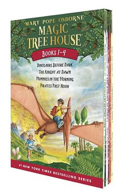 Magic Tree House #1-4 book