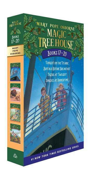 Magic Tree House Books 17-20 Boxed Set: The Mystery of the Enchanted Dog book