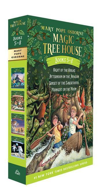 Magic Tree House Volumes 5-8 Boxed Set book