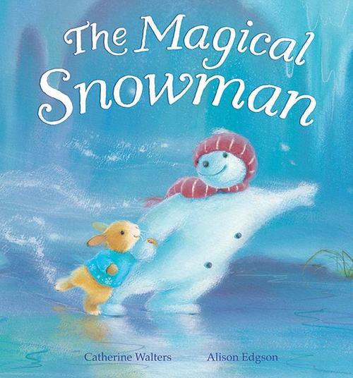 Magical Snowman book