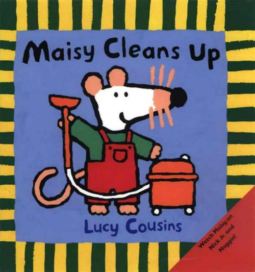 Maisy Cleans Up book