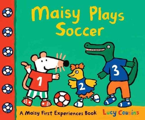 Maisy Plays Soccer book