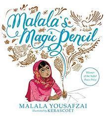Malala's Magic Pencil book