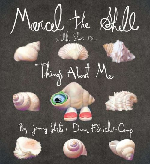 Marcel the Shell with Shoes on book
