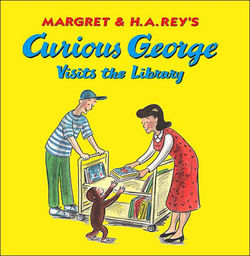 Margret & H.A. Rey's Curious George Visits the Library book