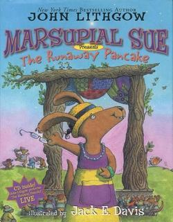 "Marsupial Sue Presents ""The Runaway Pancake"" book"