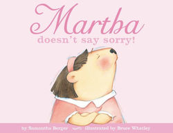 Martha doesn't say sorry! book