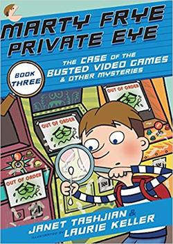 Marty Frye, Private Eye: The Case of the Busted Video Games book