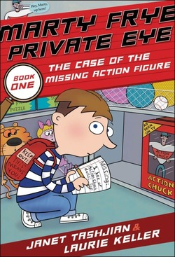 Marty Frye, Private Eye: The Case of the Missing Action Figure book