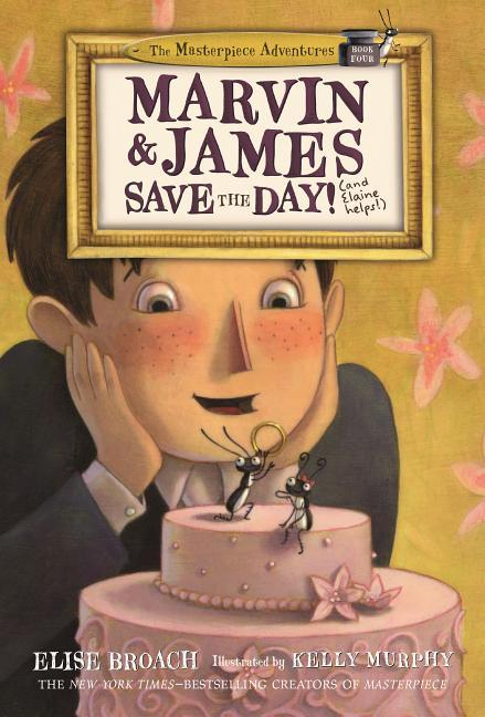 Marvin & James Save the Day and Elaine Helps! book