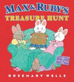 Max and Ruby's Treasure Hunt Book